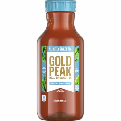 Gold Peak Slightly Sweet Tea Perspective: front