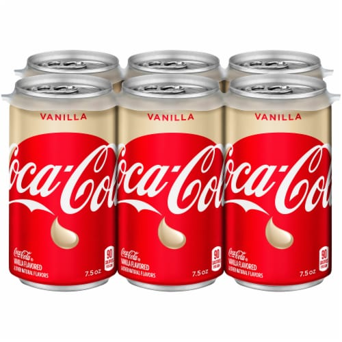 Coca-Cola Vanilla Soda Perspective: front