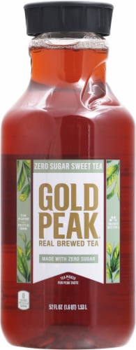 Gold Peak Diet Iced Tea Perspective: front