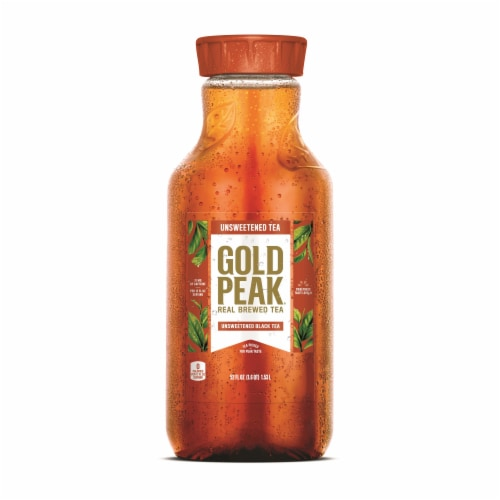 Gold Peak Unsweetened Black Tea Perspective: front