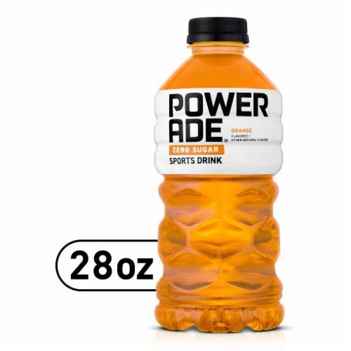 Powerade Zero Sugar Orange Sports Drink Perspective: front