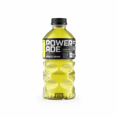 Powerade Lemon Lime Sports Drink Perspective: front