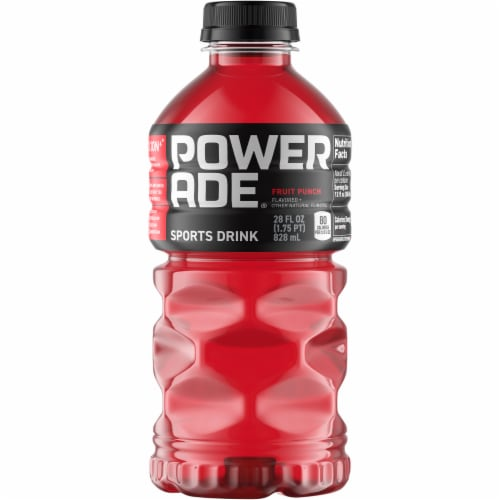 Powerade Fruit Punch Sports Drink Perspective: front