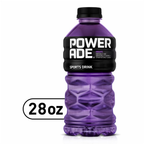 Powerade Grape Sports Drink Perspective: front