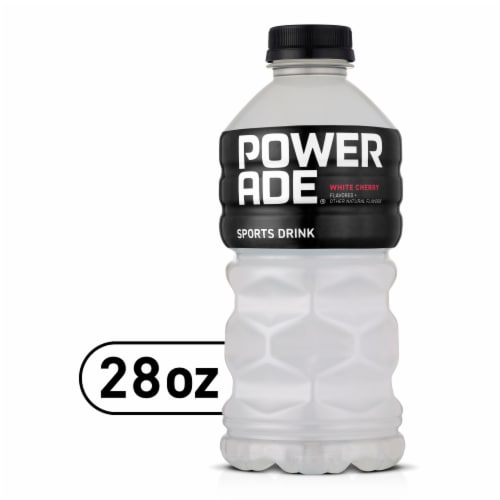 Powerade® White Cherry Flavored Sports Drink Perspective: front