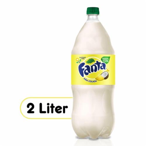 Fanta Pina Colada Soda Perspective: front
