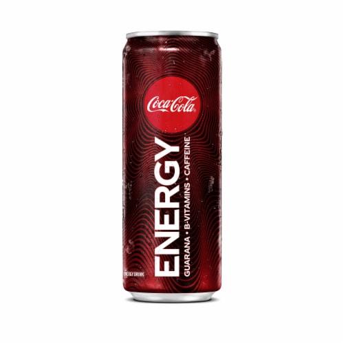 Coca-Cola Energy Drink Perspective: front