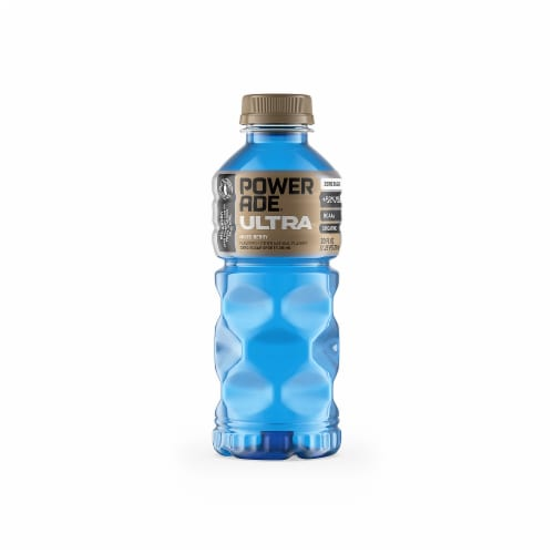 Powerade Ultra Mixed Berry Flavored Sports Drink Perspective: front