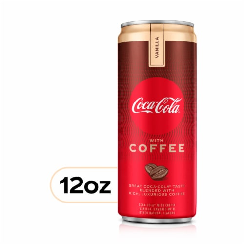 Coca-Cola with Coffee Vanilla Perspective: front