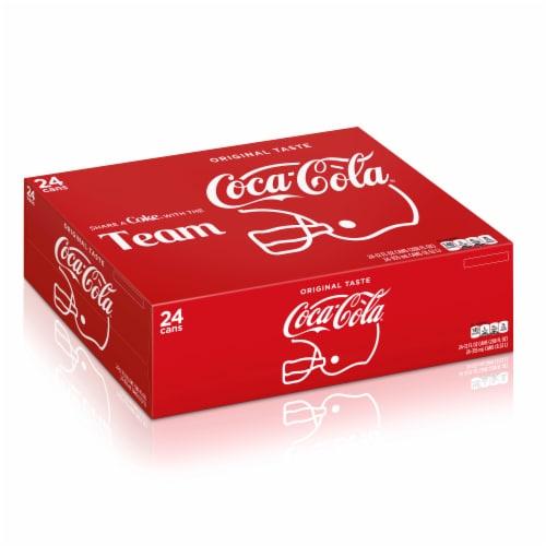 Coca-Cola Original Soda Perspective: front