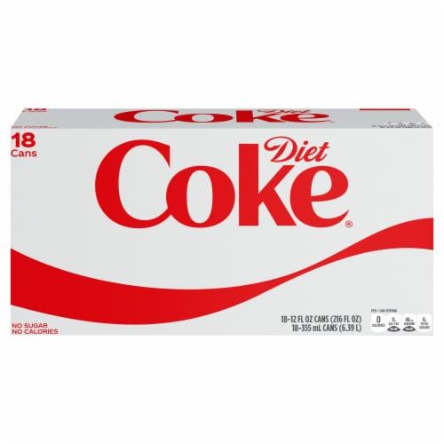Coca-Cola Diet Soda Perspective: front