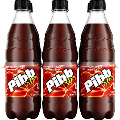 Pibb Xtra Cola Perspective: front