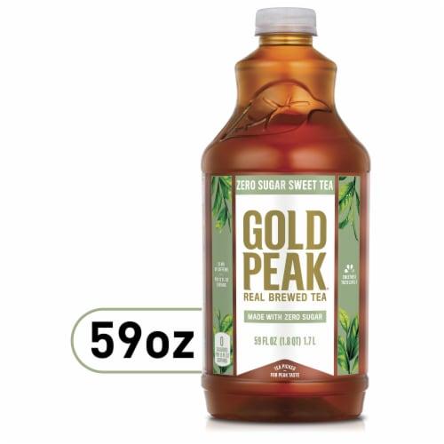 Gold Peak Zero Sugar Sweet Tea Perspective: front