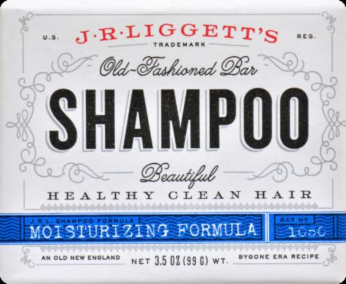 JR Liggett's Moisturizing Formula Old Fashioned Bar Shampoo Perspective: front