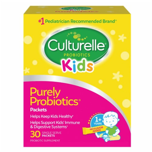 Culturelle Probiotics Kids Dietary Supplement Packets Perspective: front