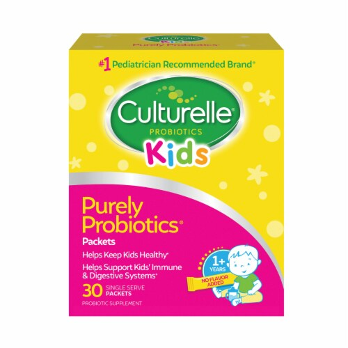 Culturelle Kids Daily Probiotic Packets Perspective: front