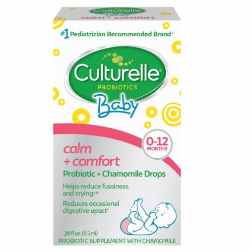Culturelle Baby Calm + Comfort Probiotic + Chamomile Drops Perspective: front