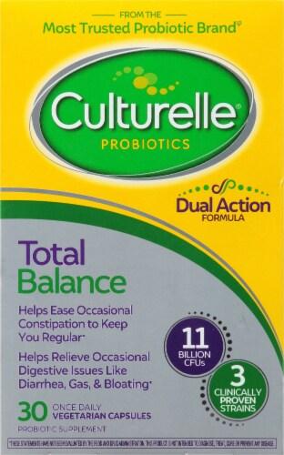 Culturelle Probiotics Total Balance Probiotic Capsules Perspective: front
