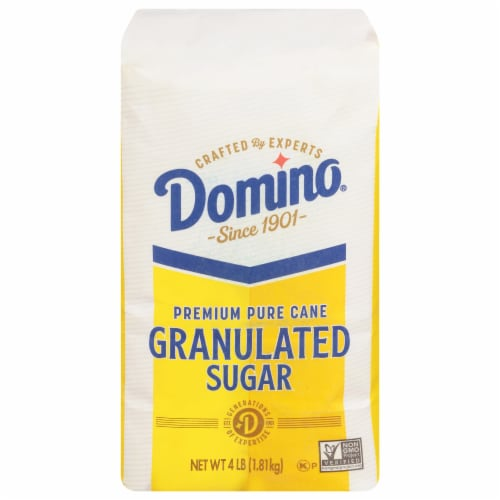 Domino Pure Cane Granulated Sugar Perspective: front
