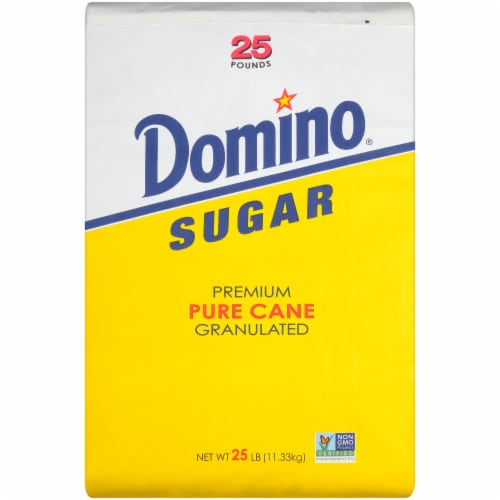 Domino Granulated White Sugar Perspective: front