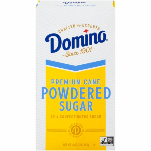 Domino Pure Cane Confectioners Sugar Perspective: front