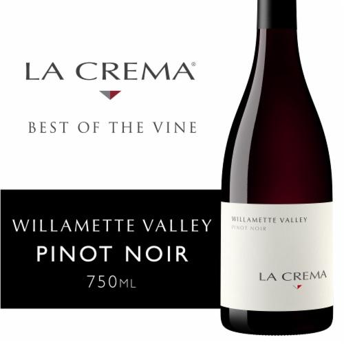 La Crema Willamette Valley Pinot Noir Red Wine Perspective: front