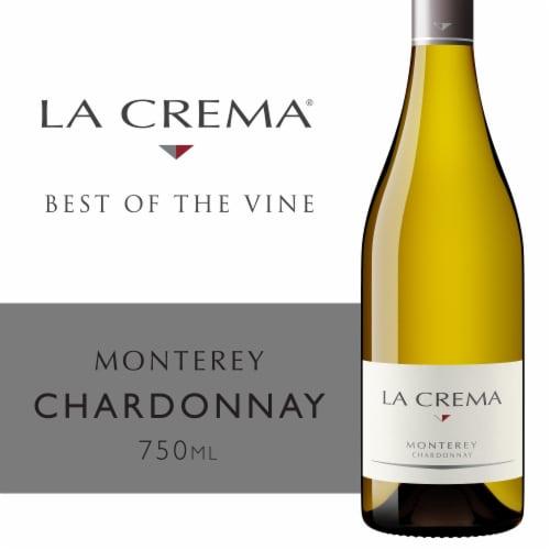 La Crema Monterey Chardonnay White Wine Perspective: front