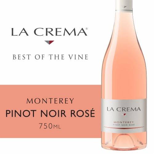 La Crema Monterey Pinot Noir Rose Wine Perspective: front
