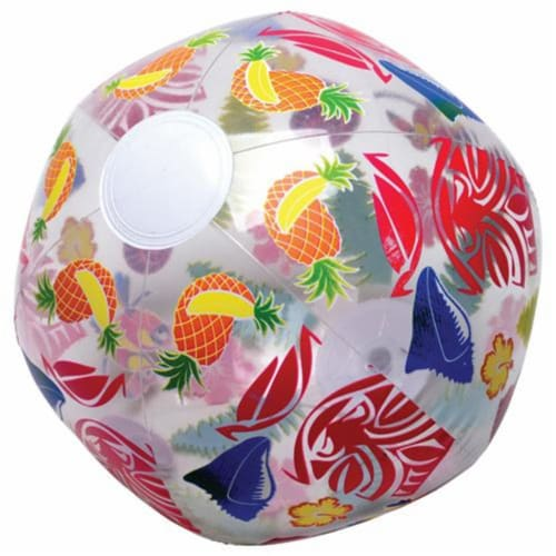 US Toy HL359 16-12 in. dia. Inflates Luau Ball for Kids Perspective: front