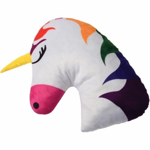 US Toy SB670 Plush Unicorn Pillow for Kids Perspective: front