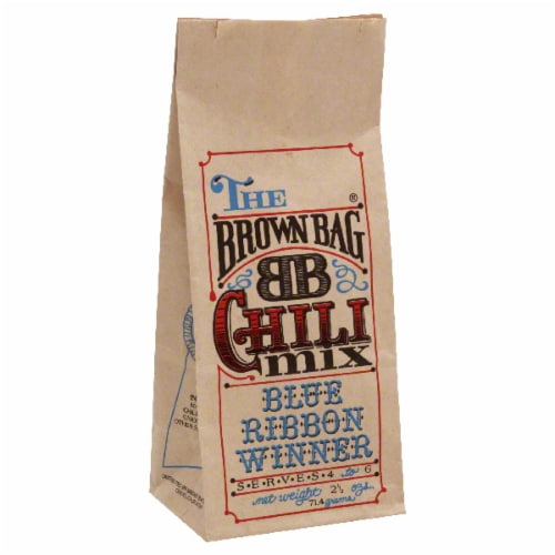 The Brown Bag Chili Mix Perspective: front