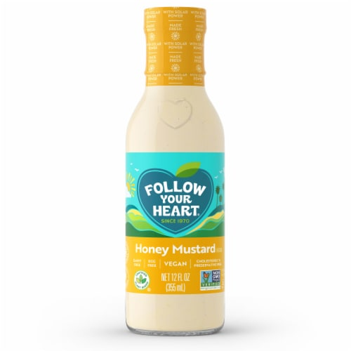 Follow Your Heart Vegan Honey Mustard Dressing Perspective: front