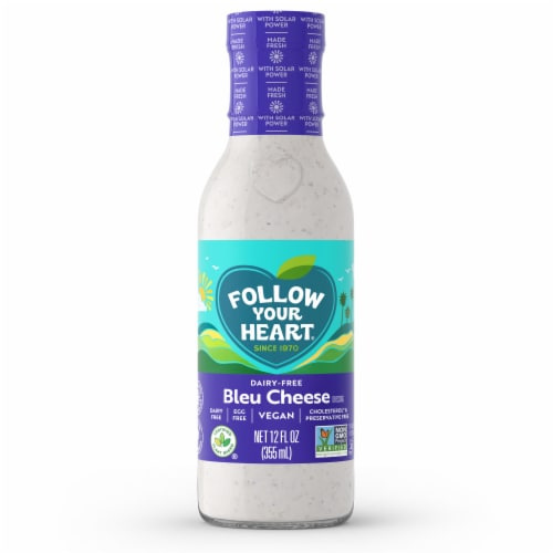 Follow Your Heart High Omega Vegan Blue Cheese Salad Dressing Perspective: front