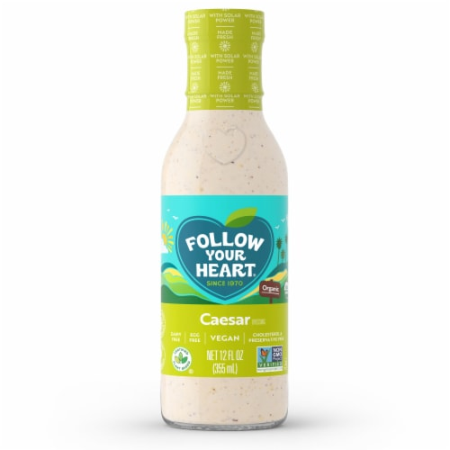 Follow Your Heart Organic Vegan Caesar Salad Dressing Perspective: front