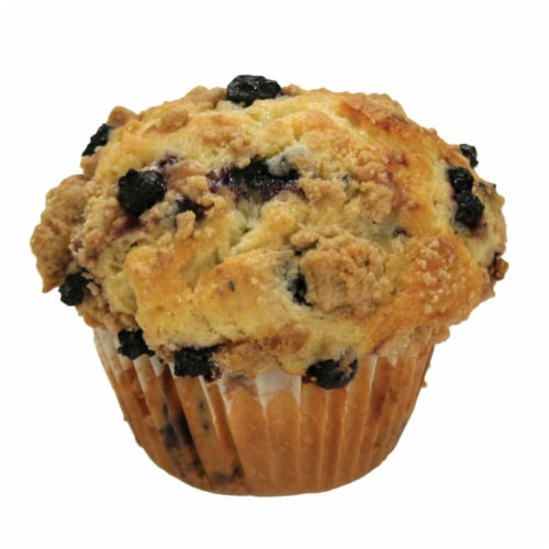 Davids Cookies Blueberry Muffin, 6 Ounce Tray -- 12 per case. Perspective: front