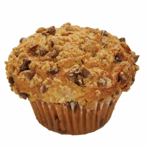 Davids Cookies Cinnamon Chip Muffin, 6 Ounce -- 12 per case. Perspective: front