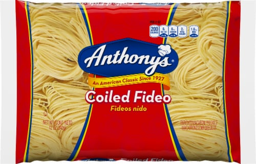 Anthony's Coiled Fideo Pasta Perspective: front