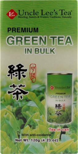 Uncle Lee's Premium Green Tea Perspective: front