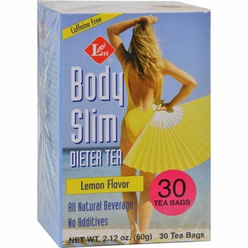 Uncle Lee's Body Slim Lemon Dieter Tea Perspective: front