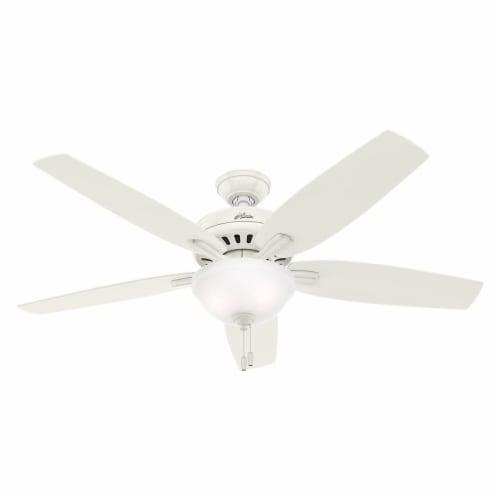 Hunter Fan Company 53310 Newsome 52 Inch Indoor Ceiling Fan Light Fresh White 1 Unit Kroger