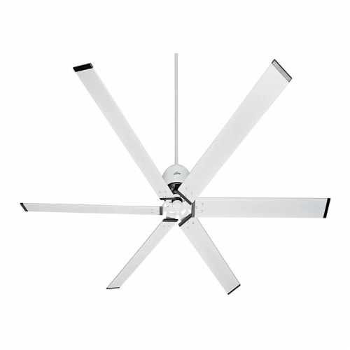 Hunter Fan Company 96 Inch Indoor or Outdoor Industrial Ceiling Fan, Fresh White Perspective: front
