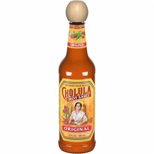 Cholula Original Hot Sauce Perspective: front