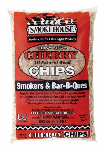 Smokehouse Products Hickory Wood Bar-B-Que Chips Perspective: front