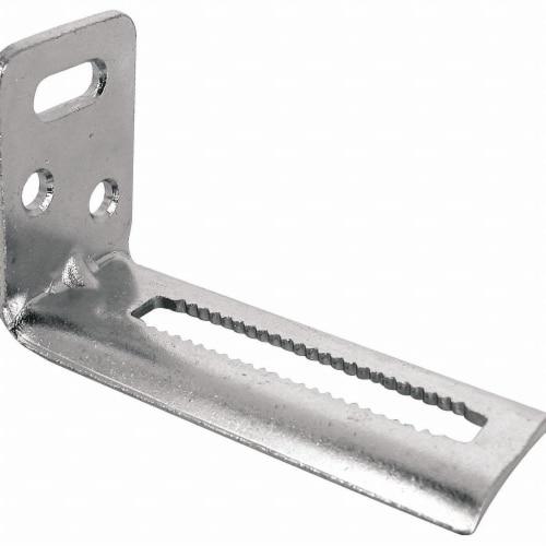 Prime-Line Door Bottom Pivot Bracket,3-53/64  L  N 6697 Perspective: front