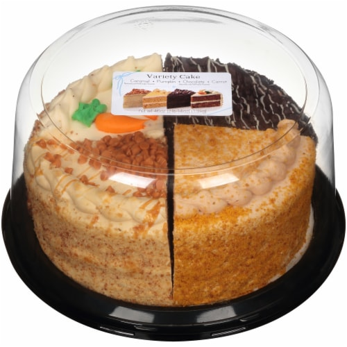Rich's Bakery Autumn Variety Double Layer Cake Perspective: front