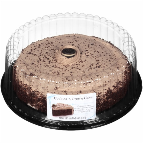 Rich's Cookies 'n Creme Cake Perspective: front