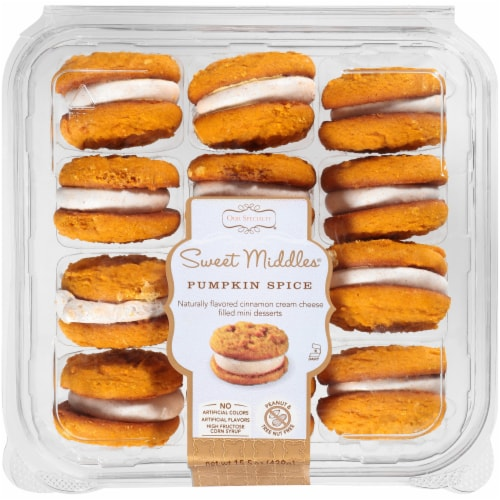Our Specialty Sweet Middles Pumpkin Spice Mini Desserts Perspective: front