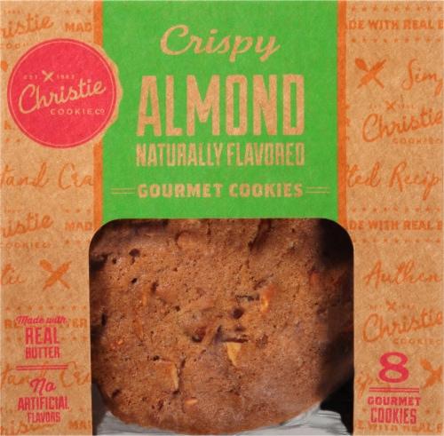 Christie Cookie Co. Crispy Almond Gourmet Cookies Perspective: front