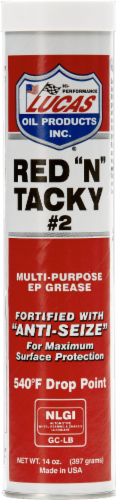 Lucas Multi-Purpose EP Grease Perspective: front