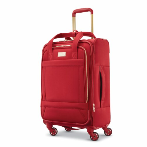 American Tourister Belle Voyage Luggage - Red Perspective: front